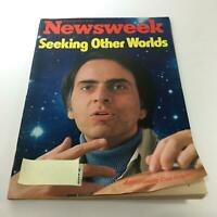Newsweek Magazine: Aug 15 1977 - Astronomer Carl Sagan: Seeking Other Worlds