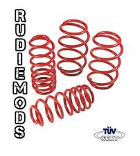 RM Lowering Springs VW Golf Cabriolet MK1 78-93 1.1 1.3 1.5 1.6 1.8 GTi 60/60mm