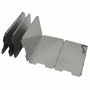 Foldable Light Aluminium Alloy 9 Plates Camping Cooker Gas Stove Wind Shield