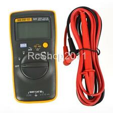 FLUKE 101 Portable Handheld Digital Meter Multimeter with Test Leads UK STOCK