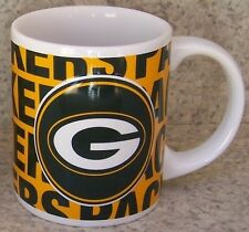 Coffee Mug Sports NFL Green Bay Packers NEW 11 ounce cup with gift box