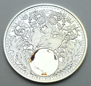 NIUE 1 DOLLAR 2016 AMBER ROAD 999 SILVER PROOF COIN BULLION INVESTMENT