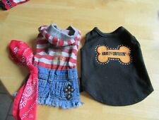 New listing Dog Clothes Booties Xs Gently Used Lot of 8