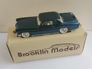 1;43 Scale Brooklin Models Lincoln Continental MkII 1956 BRK 11 in Metallic Blue