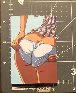 Sexy Girls Bottom Panties Adult Humor Skateboard /Laptop/ Guitar Decal Sticker