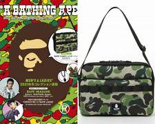 A Bathing Ape(R) 2021 AUTUMN / WINTER COLLECTION BAPE Shoulder Bag Camo e-MOOK