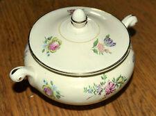 Sugar Bowl 1940's made in USA Household Institute Priscilla Pattern Ovenserve