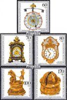 BRD 1631-1635 (kompl.Ausgabe) gestempelt 1992 Wohlfahrt: Uhren