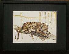 Joel Kirk print, Leopard wall art - 12''x16'' frame, Leopard by Joel Kirk