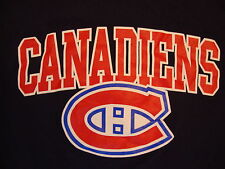 NHL Montreal Canadiens Canada National Hockey League Fan Blue T Shirt S