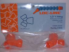 "Loc-Line 1/2"" Hose Y (2 males, 1 female) Fitting 51808 NEW!!!"