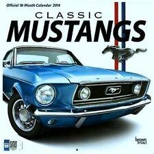 CLASSIC MUSTANGS / 2014 Wall Calendar