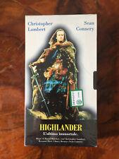 VHS Film Highlander L'ultimo immortale Sigillato