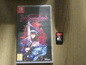 JEU NINTENDO SWITCH BLOODSTAINED RITUAL OF THE NIGHT VERSION FR