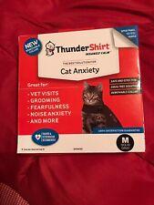 Thunder Shirt Insanely Calm Cat Anxiety Treatment Shirt Jacket Solid Gray Medium