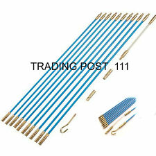 Neilsen Cable Access Kit 10 x 330mm Wires Rods Hooks Pull Through Cables 2465*
