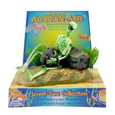 Aquarium Fish Tank Skeleton on Wheel Action-Air Aquariums Ornament Landscape FA