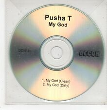 (GD910) Pusha T, My God - DJ CD