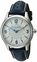 Frederique Constant Horological Smartwatch Quartz Silver Dial Men's Watch
