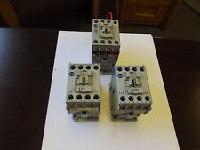 WHOLESALE LIQUIDATION ALLEN BRADLEY CONTACTOR (2) 100-C12*10  (1) 500-TO*930