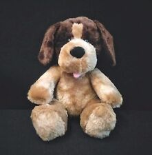 Build A Bear Workshop BABW Brown Tan Puppy Dog Plush EUC 15""