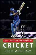 The Cambridge Companion to Cricket, New,  Book