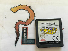 NINTENDO DS FINAL FANTASY FABLES CHOCOBO TALES SOLO CARTUCHO PAL EUR