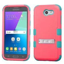Étuis, housses et coques rouge Pour Samsung Galaxy J3 en silicone, caoutchouc, gel pour téléphone mobile et assistant personnel (PDA)