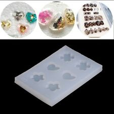 Silicone Faceted Beads Earring Mold Jewellery Making Mould Resin DIY Craft Tools