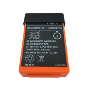 BA225030 6V 2500mAh Pump Truck Remote Control Battery