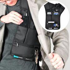 Men Multifunction Anti-Theft Hidden Underarm Shoulder Phone Holster Storage Bag