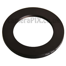 77mm A 52mm Macho-hembra Stepping Step Down filtro anillo adaptador 77-52 77mm-52mm