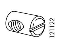 IKEA Cross Dowel Nut Sleeve 4x 121122 117853