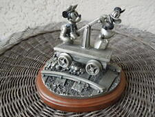 Chilmark Disney Riding the Rails Mickey Mouse & Donald Duck Pewter Figurine