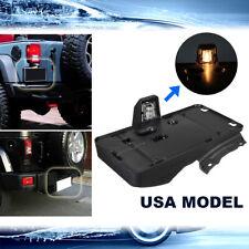 For Jeep Wrangler 2007-2017 USA Model Rear Tail License Plate Holder Bracket New
