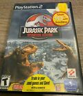 Jurassic Park Operation Genesis PS2 Playstation 2 - Scratched - Please read