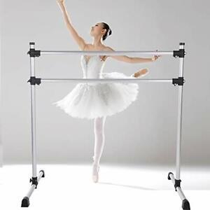 Umeken Aluminum Ballet Barre Bar Portable for Home Exercise Stretch 4 Ft Adju...