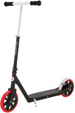 Razor A5 Carbon Lux Kick Scooter Black, Red Wheels Steel Outdoor Park Adult Kids
