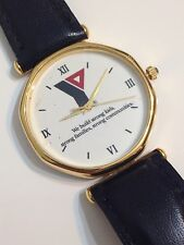 Great American Images Gold Tone Excellent Condition Working Quartz Watch