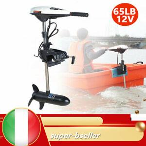 65LBS 12V Motore Elettrico Fuoribordo Gommone for kayak pesca barca 660W