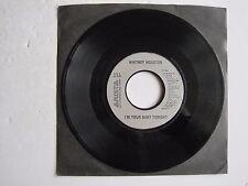 "WHITNEY HOUSTON - I'M YOUR BABY TONIGHT - 7"" 45 rpm vinyl record"