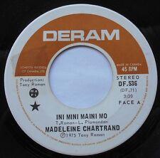 MADELEINE CHARTRAND Ini mini..NM- CANADA 1975 FREAK BEAT FRENCH PSYCH 45 HEAR!!!