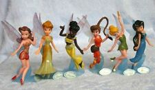Disney Princess Peter Pan Tinkerbell Figures Toy With Black Fairy Set of 6 AU
