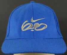 new arrival 990f8 36503 6.0 Nike Embroidered Blue Baseball Hat Cap Fitted Stretch Band