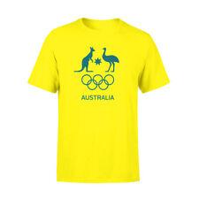 AOC Telstra /alanta Games Australian Olympic Adults Medium Supporter T-shirt