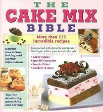 Cookbook Bible Cake Mix