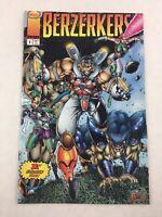 Berzerkers Image Comic Book Vol 1 No 1 August 1995