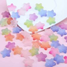 Karışık Renkler Seramik Porselen Cam Cabochons 8//10//12//14//16mm Düz Geri Cameo Ta