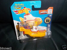 THE BEATLES HOT WHEELS ! YELLOW SUBMARINE MODEL SUBA FILMS LICENCED AWESOME !