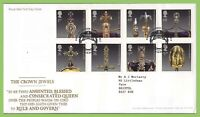 G.B. 2011 The Crown Jewels set on Royal Mail First Day Cover, London EC